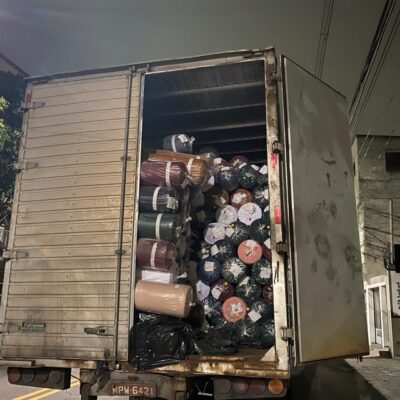Polícia recupera carga roubada avaliada em R$350 mil